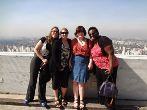 The KWF crew on top of Sao Paolo.